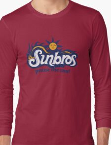 Sunbros: Praise The Sun! Long Sleeve T-Shirt