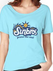 Sunbros: Praise The Sun! Women's Relaxed Fit T-Shirt