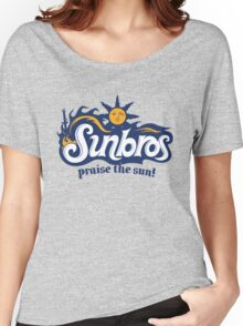 Sunbros: Praise The Sun! Women's Relaxed Fit T-Shirt