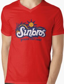 Sunbros: Praise The Sun! Mens V-Neck T-Shirt