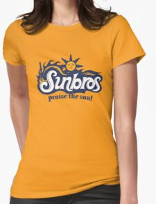Sunbros: Praise The Sun! Womens Fitted T-Shirt
