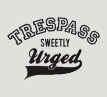 Trespass Sweetly Urged - Shakespeare T-Shirt [Black] by Jessica Morgan