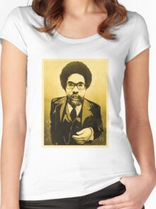 Dr Cornel West Women's Fitted Scoop T-Shirt
