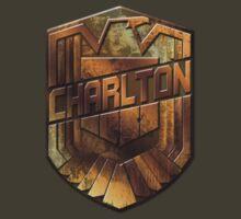 Custom Dredd Badge Shirt - Pocket - (Charlton)  by CallsignShirts