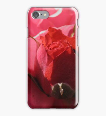 red rosebud iPhone Case/Skin