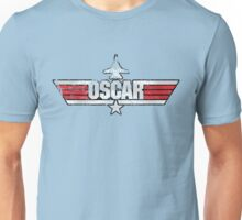 Custom Top Gun Style - Oscar Unisex T-Shirt