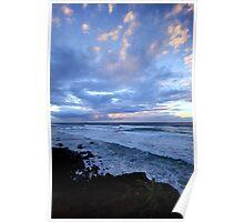 Sunrise Shelly Beach Ballina NSW Poster