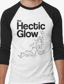 The Hectic Glow - John Green T-Shirt [B&W] Men's Baseball ¾ T-Shirt