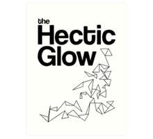 The Hectic Glow - John Green T-Shirt [B&W] Art Print