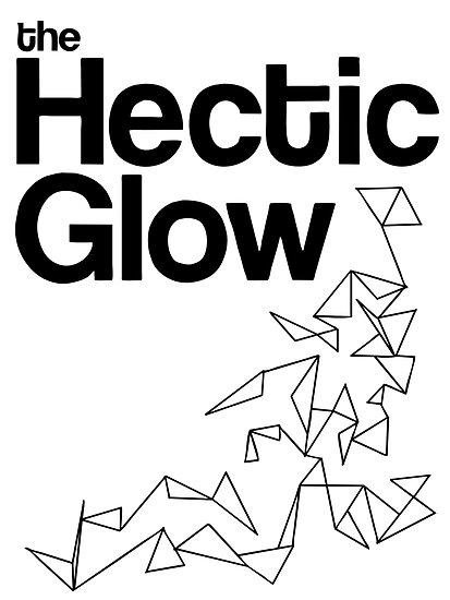 The Hectic Glow - John Green T-Shirt [B&W] by Jessica Morgan