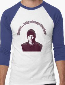 "Boris... why always Boris? (""The Wire"") Men's Baseball ¾ T-Shirt"