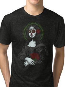 Muerte de mona lisa Tri-blend T-Shirt