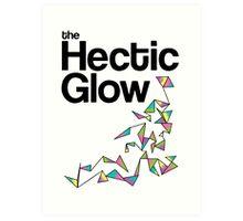 The Hectic Glow - John Green T-Shirt [Colour] Art Print