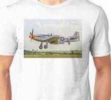 "P-51D Mustang 44-74427 F-AZSB ""Nooky Booky IV"" Unisex T-Shirt"