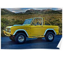 1970 Ford Bronco Poster