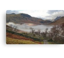 Little Langdale Valley Cumbria Canvas Print