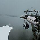 A Foggy Landing      Langkawi Island by sandysartstudio