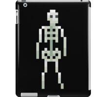 Skeleton Pixel iPad Case/Skin