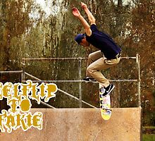 Heel-flip To Fakie by reflector