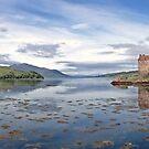 Eilean Donan Castle, Scotland by David Alexander Elder