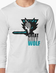 The Great Grey Wolf Long Sleeve T-Shirt