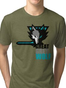 The Great Grey Wolf Tri-blend T-Shirt