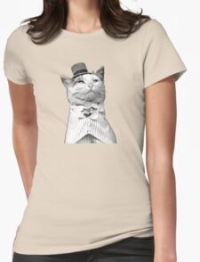 Like A Sir - Cat Womens Fitted T-Shirt