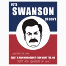 VOTE SWANSON by superedu
