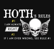 HOTH Rule #1 i am always right. #2 If i am ever wrong see rule #1 - T Shirt, Hoodie, Hoodies, Year, Birthday by oaoatm