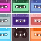 audio cassettes are retro by nadil