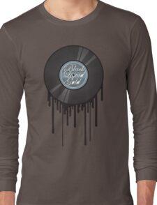 Black Liquid Gold Long Sleeve T-Shirt