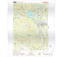 USGS TOPO Map New Hampshire NH Franklin 329566 2000 24000 Poster