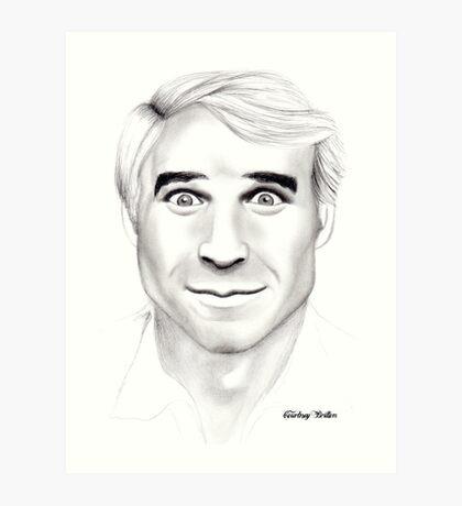 Steve Martin Portrait Art Print