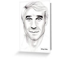 Steve Martin Portrait Greeting Card