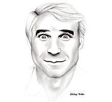 Steve Martin Portrait Photographic Print