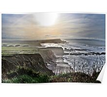 Sunny Winter Day in Kernow Poster