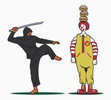 McDonald versus Ninja by ullilange