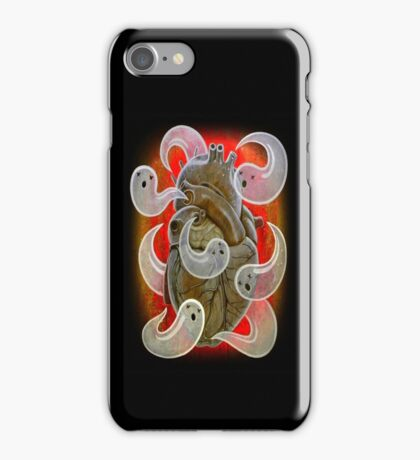 """A Heart Full of Ghosts"" iPhone Case/Skin"