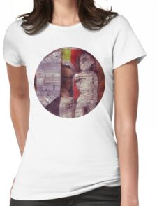 Man In Doorway Womens Fitted T-Shirt