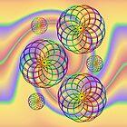 Spirals .. iPad case by LoneAngel