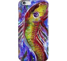 Lucky fish iPhone Case/Skin