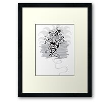 Let's Rock Framed Print