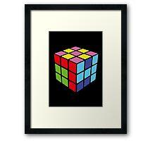 1974 Rubiks Cube Framed Print