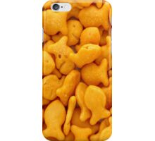 Gold Fish Crackers iPhone Case/Skin
