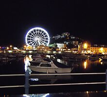 Torquay - The bay At Night by artyfax