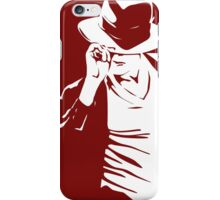 Great King Of Pop Dancing Stencil Art iPhone Case/Skin