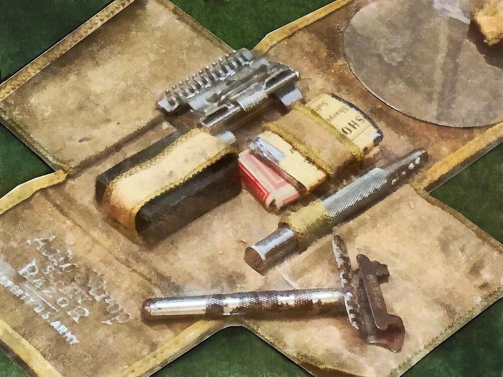 World War I Shaving Kit by Susan Savad