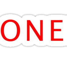 Boner Sticker