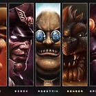 Nintendo Series Villains by Uheq