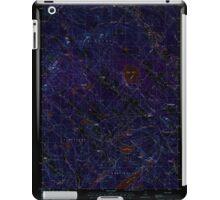 USGS TOPO Map New Hampshire NH Baxter Lake 329477 1987 24000 Inverted iPad Case/Skin